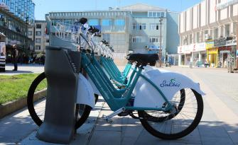 Sakarya'nın Kiralık Bisiklet Sistemi SAKBİS Faaliyete Geçti