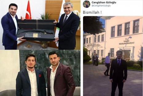 Bir Ziyaret Bir Hediye, Davut Güloğlu'nun Oğlu Büyükşehirde İşe Başladı