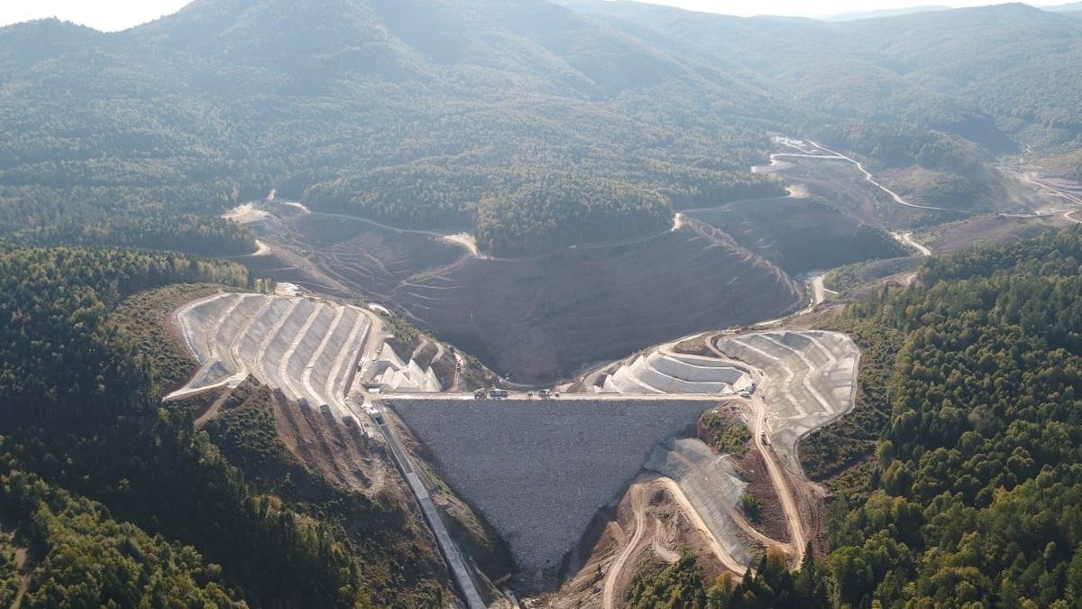 Akçay Barajı İsale Hattı