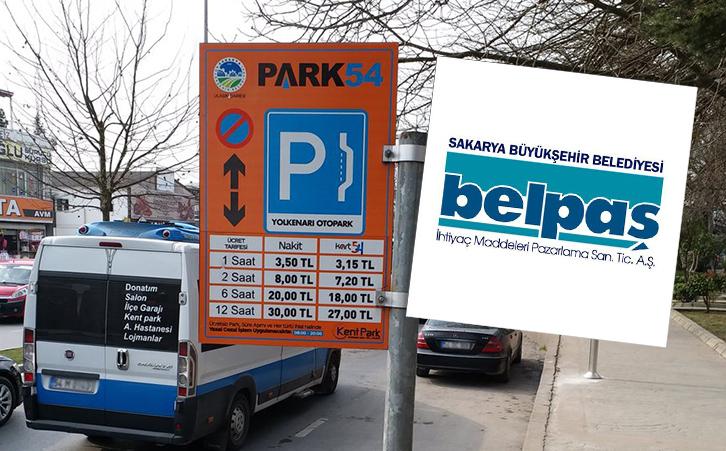 Otopark İşletmeciliği Kentpark'dan Belpaş'a Geçiyor